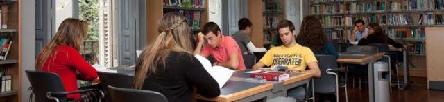 Biblioteca del Centro Universitario Villanueva
