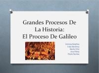 EL PROCESO DE GALILEO