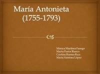 Proceso de Maria Antonieta